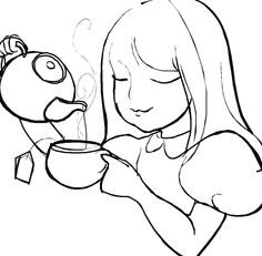 wordgirl coloring pages | Black and White Lantern | Objects- Nesneler | Pinterest ...