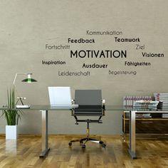 Wandtattoo - Motivation Teamwork Kommunikation