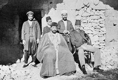 The Qaimaqam (Governor) of Qal'at Al Hosn, Ottoman Syria, 1913.