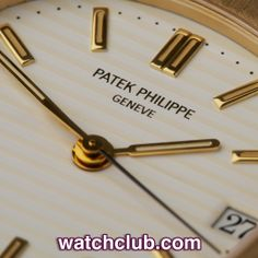 Patek Philippe Nautilus Yellow Gold - Classic Model REF: 3800 | Year Jan 1994 In solid 18ct yellow gold this classic gents 36mm Nautilus ref.3800 is in absolutely superb condition! Patek Philippe's signature sports watch created a stir when it was launched back in the 70's and it's still making waves today... This example sports a classic white dial with applied gold indexes, the cream coloured Nautilus ribs giving a definite warmth