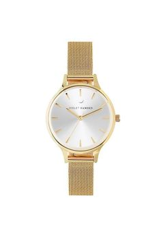 Violet Hamden Nowness Gold Grain Gold Gold Watch, Watches, Accessories, Wrist Watches, Wristwatches, Tag Watches, Watch