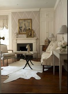 * Happyroost Interiors: Cowhide Rugs