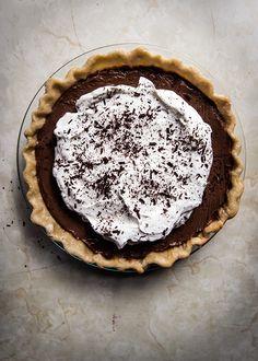Chocolate Pudding Pie   SAVEUR