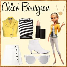 Chloé Bourgeois Cute Disney Outfits, Disney Themed Outfits, Cartoon Outfits, Pretty Outfits, Cute Outfits, Casual Cosplay, Cosplay Outfits, Teen Fashion Outfits, Girl Outfits