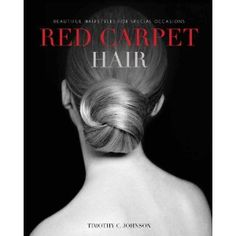 If you have a formal event, this book will give you some amazing inspiration to take to your hairdresser - or try yourself!  It also features all hair textures so there's something for everyone
