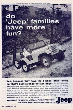 Love this old ad
