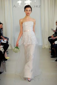A feature on the stunning wedding dresses and designer bridal gowns of the Angel Sanchez Bridal 2014 Collection. New York Wedding Dresses, Wedding Gowns Online, Pink Wedding Dresses, Stunning Wedding Dresses, Designer Wedding Dresses, Bridal Dresses, Bridesmaid Dresses, Dress Wedding, Lace Wedding