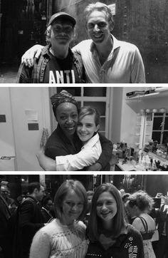 Ron Weasley - Hermione Granger - Ginny Weasley   #RupertGrint #EmmaWatson…