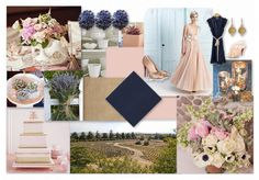 Blush, Navy, and Gold. I am having so much trouble deciding between, silver, gold and navy or blush, gold and navy! I think blush, rather than silver gives more depth and sophistication.