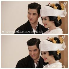 Taew Nattaporn and Mario Maurer in 'The rising sun' series