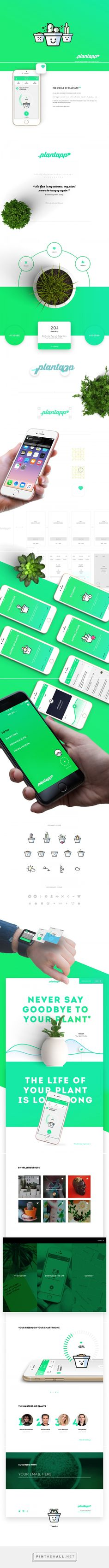 Plantapp - U Plant App on Behance - created via http://pinthemall.net