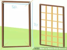 image titled make shoji screens step 3