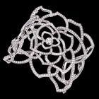 Manschetten-Armreif Limelight Garden Party - Piaget Rose Manschetten-Armreif Weißgold Diamant - PIAGET G36L5400