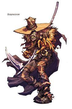 Carlos d'Anda Arkham Scarecrow
