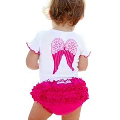 Angel Wings Newborn Baby Girl Clothes Cotton Infant Baby Clothing Kids Suit Set Princess Enfant Children Summer Wear #>=#>=#>=#>=#> Click on the pin to check out discount price, color, size, shipping, etc. Save and like it!