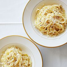 Spaghettini with Garlic and Dried Chile #simple #dinner #lunch #pasta