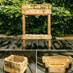 Herb boxes by Nature's Design