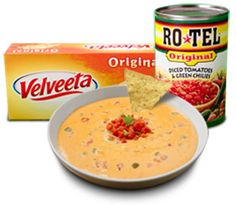 Make RO*TEL and Velveeta Queso Dip Today | Queso for All