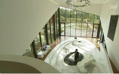 This house is located in Maiim Vision Village in the Gyeonggi Province of South Korea.