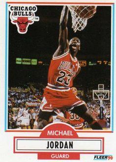 Michael Jordan is een goeie basketballer