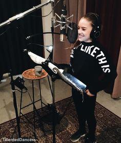 Mackenzie is recoding her new album!!! [03.13.16]