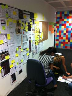 Initial sketches and concepts from the design of the schedule | BBC - Olympics: User Experience and Design