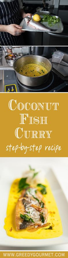 Meen Molee, a coconut fish curry, is a classic Keralan dish. A step-by-step illustrated recipe in the kitchen of Benares.