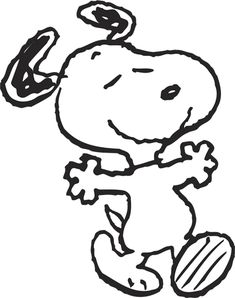 I remember as a little girl how often my Dad would draw Snoopy (perfectly) and made me Snoopy gingerbread cookies. Ever since then, I have loved Snoopy.