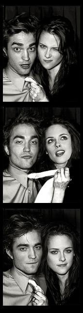 Robert Pattinson and Kristen Stewart. One of my favorite couples!