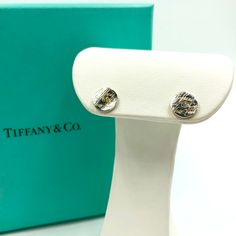 1f6f7f558b94 The perfect every day stud earrings. Tiffany Sterling Silver Address Notes  Studs. Judith Ripka