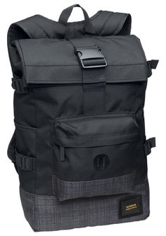 Swamis Backpack - Black / Black Wash | Nixon Mens Bags & Wallets