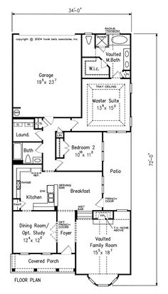 Gettysburg home plans and house plans by frank betz for Thompson house plans