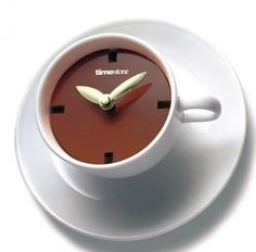 Картинки по запросу taza de cafe reloj