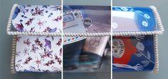 DIY Tutorial: a transparent bag with interchangeable design