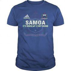 SAMOA - #jean skirt #striped shirt. PURCHASE NOW => https://www.sunfrog.com/LifeStyle/SAMOA-Royal-Blue-Guys.html?id=60505