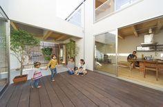 東広島モデル | ソラマド写真集 Roof Window, Japanese House, Home Fashion, Nice View, Deck, House Design, Windows, Flooring, Architecture