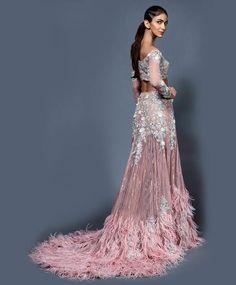 Fashion is like food; you shouldn't stick to the same menu. #clothing #fashion #style #streetwear #clothes #art #brand #fashionblogger #model #streetstyle #instagood #design #outfit #clothingline #fashionista #designer #outfitoftheday Wedding Lehenga Designs, Designer Bridal Lehenga, Designer Lehanga, Indian Wedding Outfits, Indian Outfits, Indian Attire, Pakistani Outfits, Indian Clothes, Indian Wear