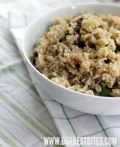 Not-so-dirty dirty rice.  Yum!  My hubby had 2nds, so you know it's good!