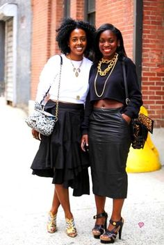 Chic Happens: Fashion Editors, Nicole Chapoteau & Rajni