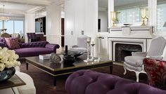"The owners requirement was to create a ""Venetian Palace"" inside a  modern space."