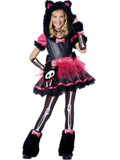 Halloween Kit The Kat Deluxe Child Costume  sc 1 st  Pinterest & Teen Girls Purple Cheshire Cat Costume | Cats Cat costumes and ...