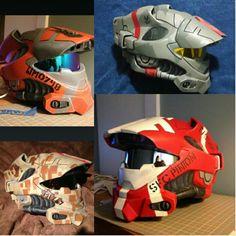 Halo spartan helmets...man I need one