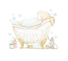 Ilustracion infantil banera