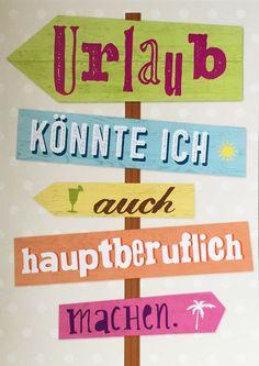 #urlaub - hauptberuflich!
