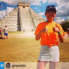 Amazing!! #Repost @ginaoddo with @repostapp.・・・Boston College at Chichen Itza, Yucatan, Mexico! @BCRecreation #BCSpringBreak #chickenpizza #roadtoeldorado