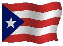 Banderas Animadas de Puerto Rico. Bandera Animada de Puerto Rico. Dibujo, Ilustraciones e imágenes de las enseña nacional. Representaciones del simbolo nacional. Representación del simbolo del país. Enseña, Blasón o Emblema. Ilustración, dibujos o imagen gif animados de Banderas de Puerto Rico. Himno nacional de Puerto Rico y Bandera Nacional