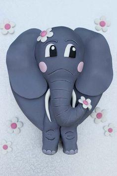 3D Elephant Cake by Verusca