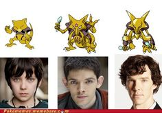 It is weird to think that Asa Butterfield is 17, Colin Morgan is 28, and Benedict Cumberbatch is 37. 37!!