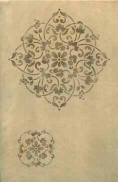 Floral Medallion Set B