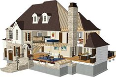 Chief Architect Home Designer Pro 2017 Home Designer Professional, By Chief  Architect, Is Professional Home Design Software For The Serious DIY Home ...